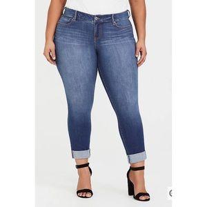 Torrid Plus Size Boyfriend Jean Premium Stretch